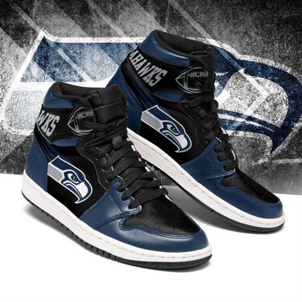 Seattle Seahawks Nfl Football Air Jordan Sneaker Boots Shoes