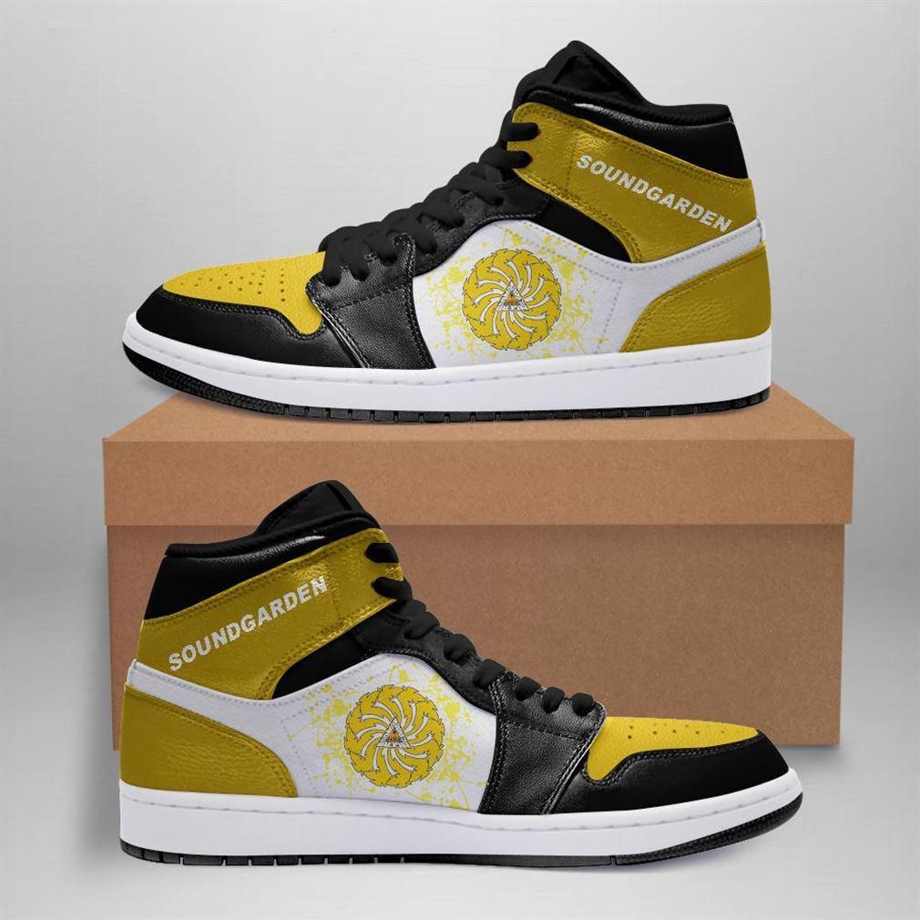 Soundgarden Rock Band Air Jordan Sneaker Boots Shoes