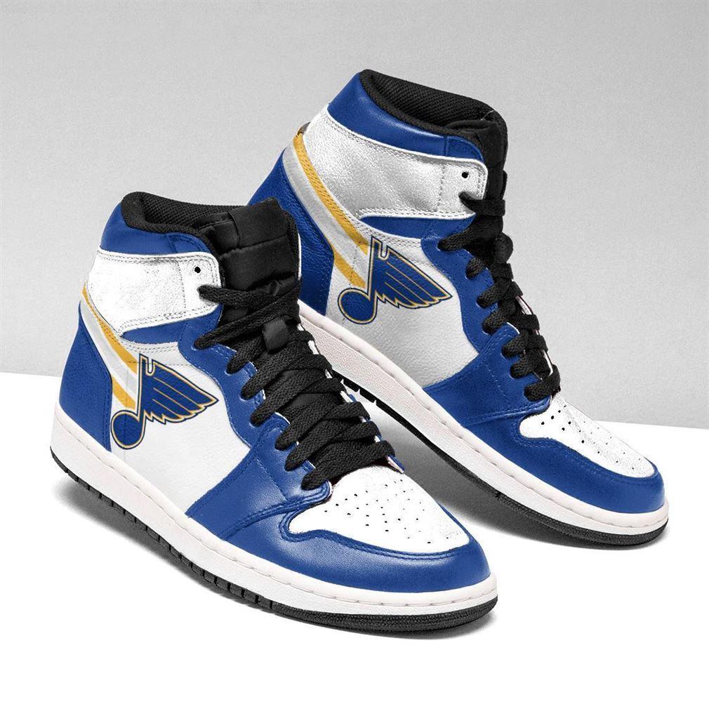 St Louis Blues Nhl Air Jordan Sneaker Boots Shoes