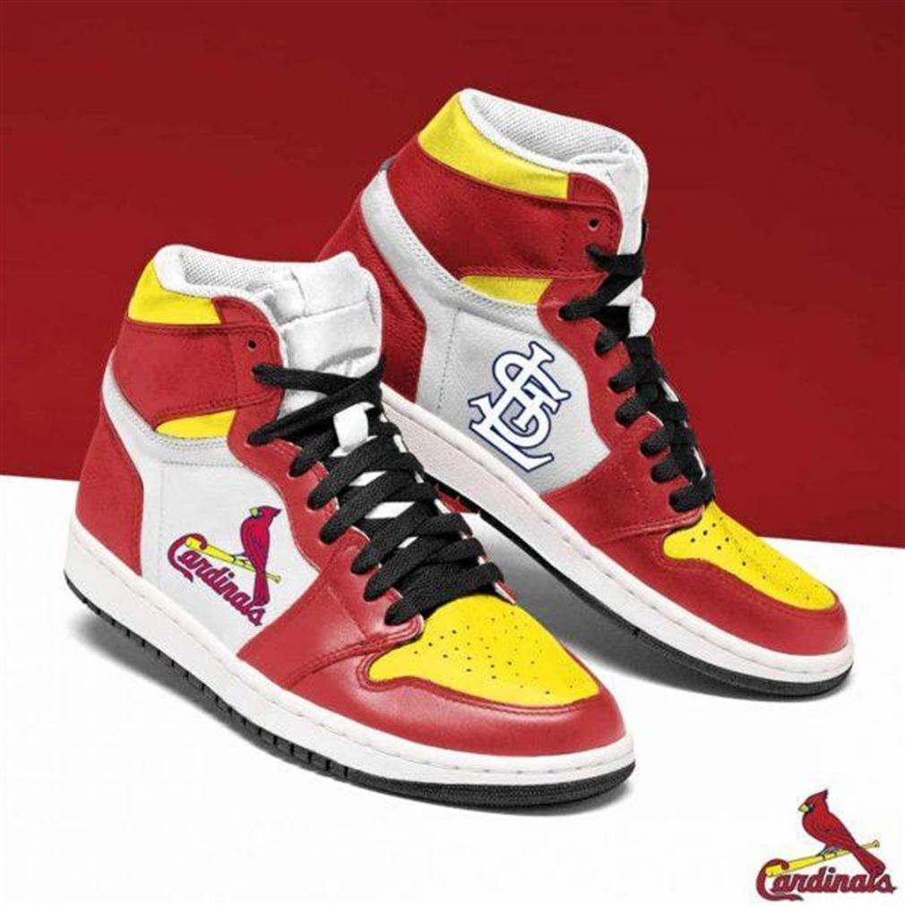 St Louis Cardinals Mlb Baseball Air Jordan Sneaker Boots Shoes