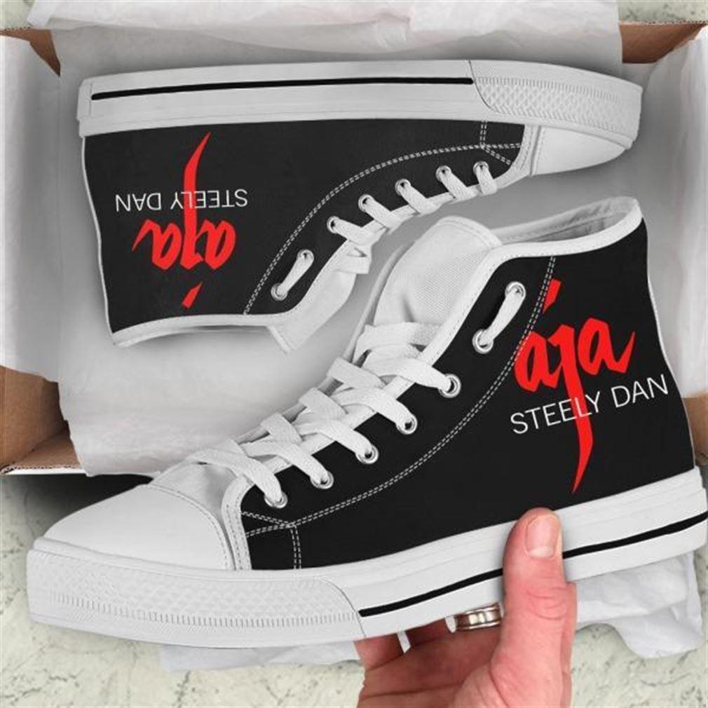 Steely Dan Aja High Top Vans Shoes