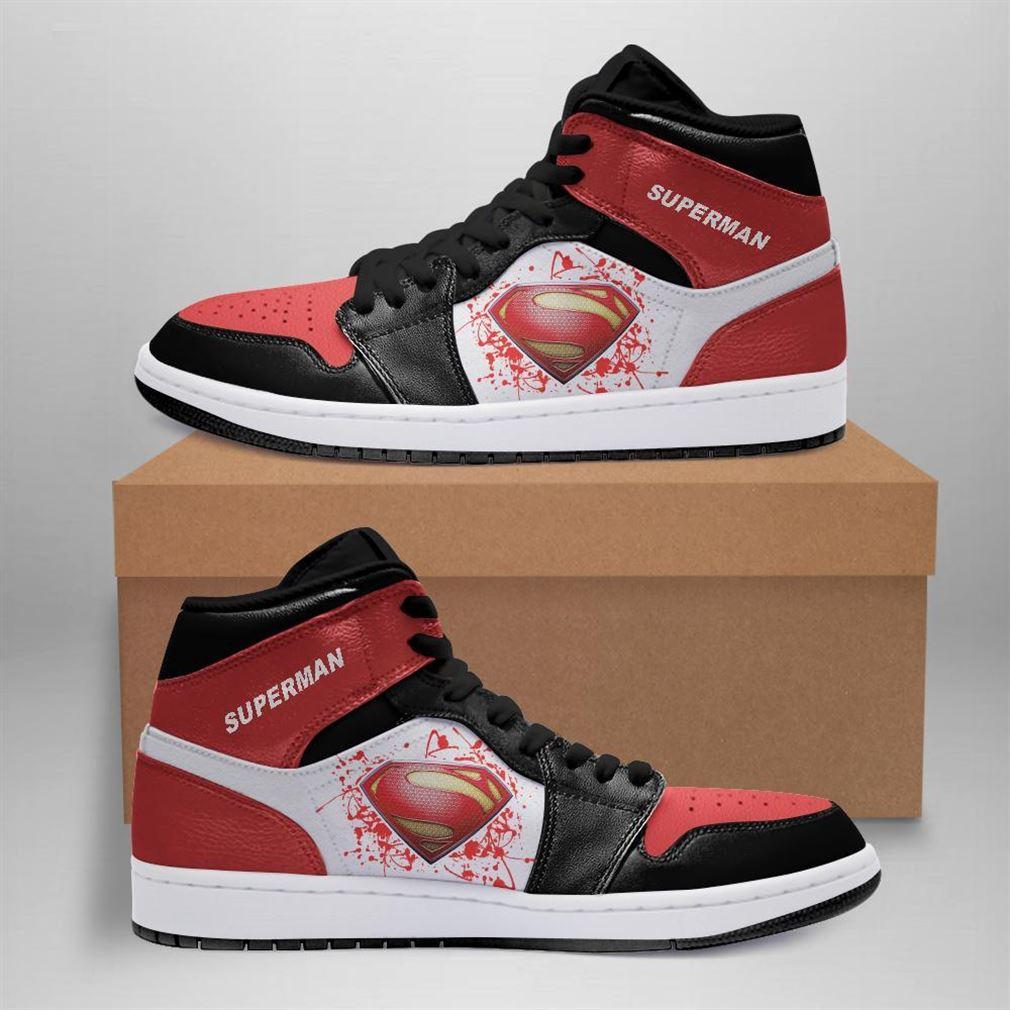 Superman Dc Comics Air Jordan Sneaker Boots Shoes