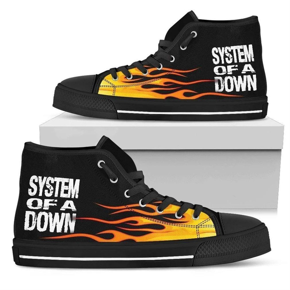 System Of A Down High Top Vans Shoes