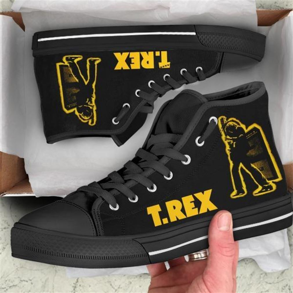 T Rex High Top Vans Shoes
