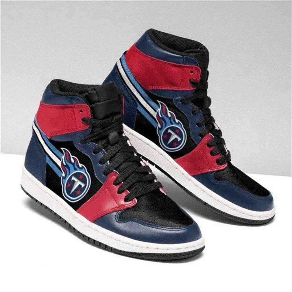 Tennessee Titans Nfl Football Air Jordan Sneaker Boots Shoes