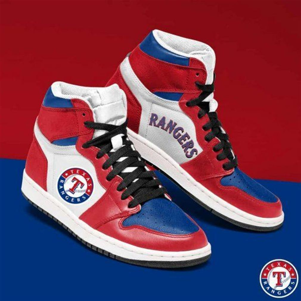 Texas Rangers Mlb Baseball Air Jordan Sneaker Boots Shoes