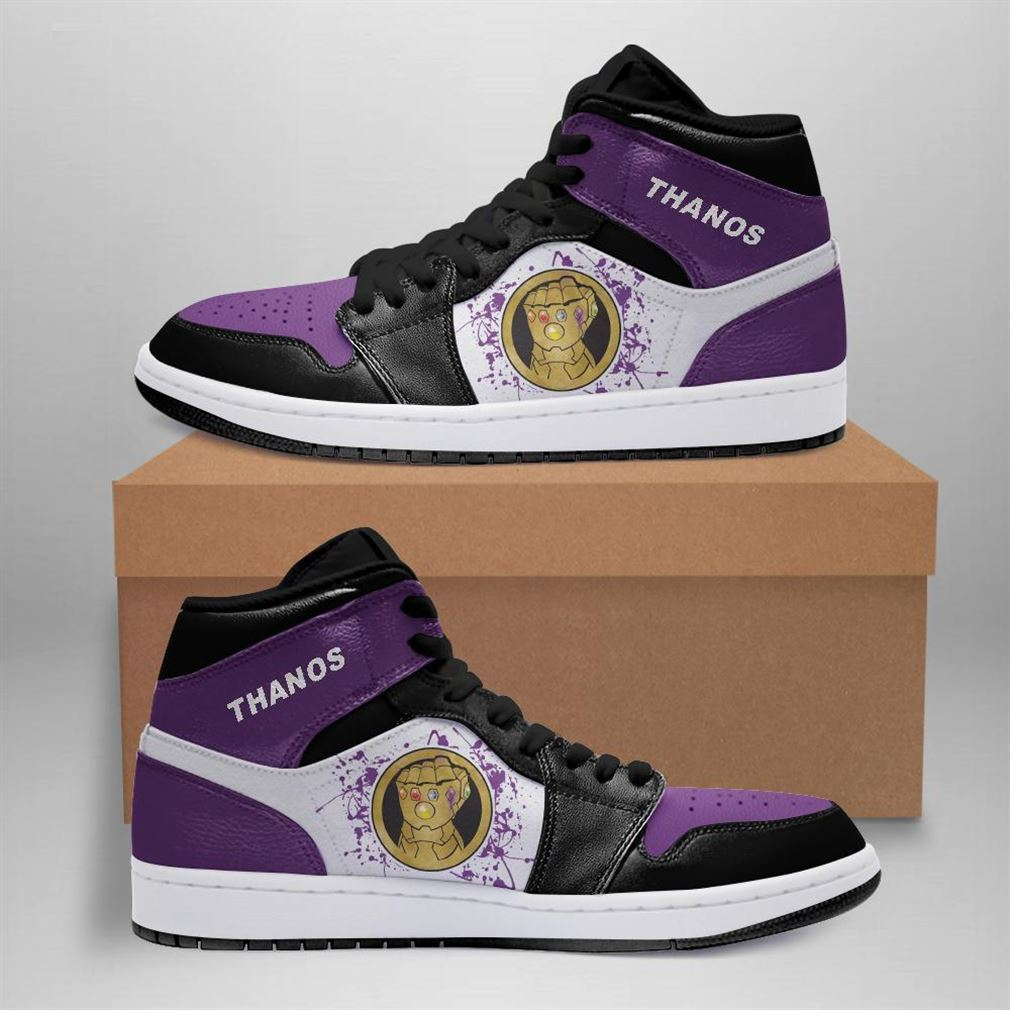 Thanos Marvel Air Jordan Sneaker Boots Shoes
