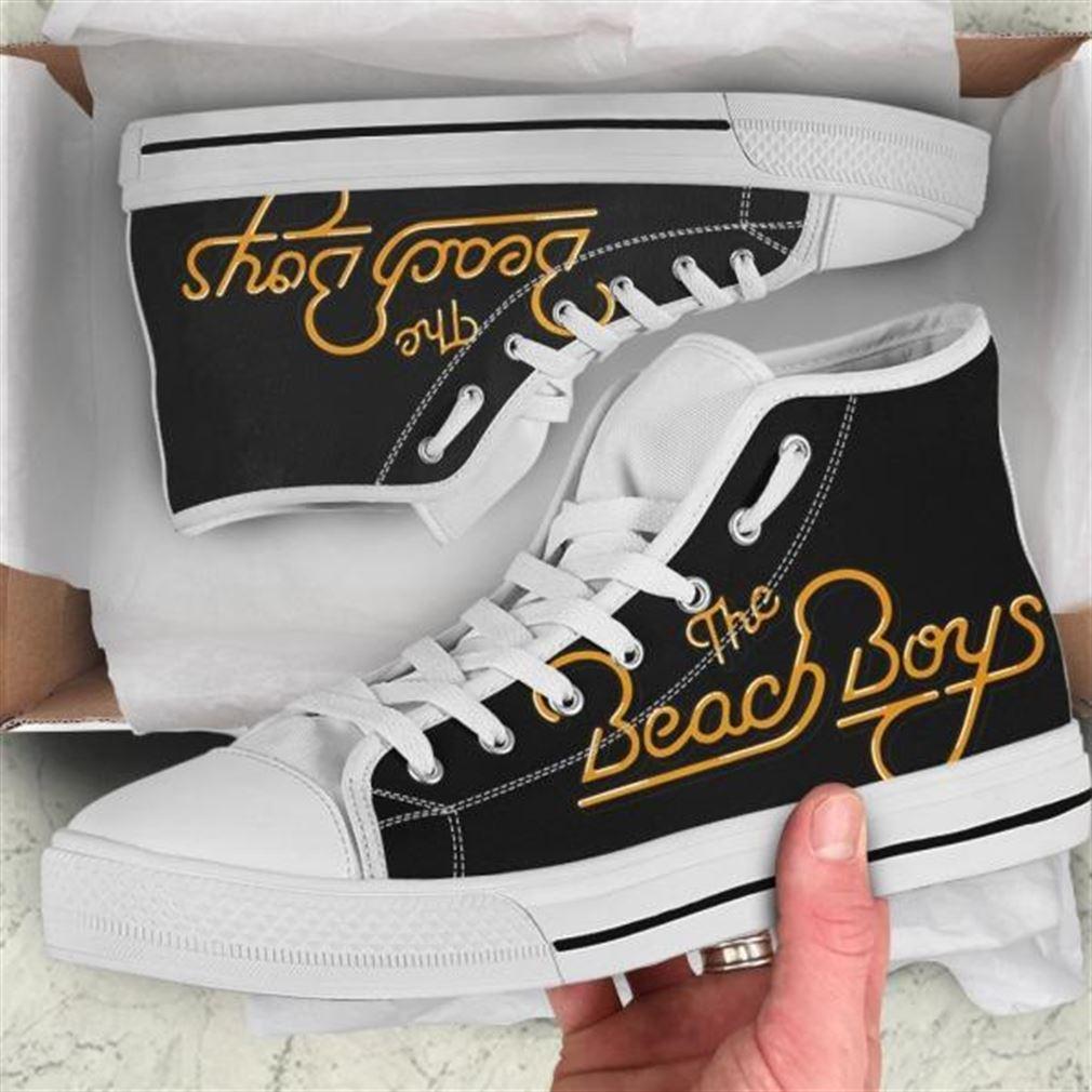 The Beach Boys Mlb Baseball High Top Vans Shoes