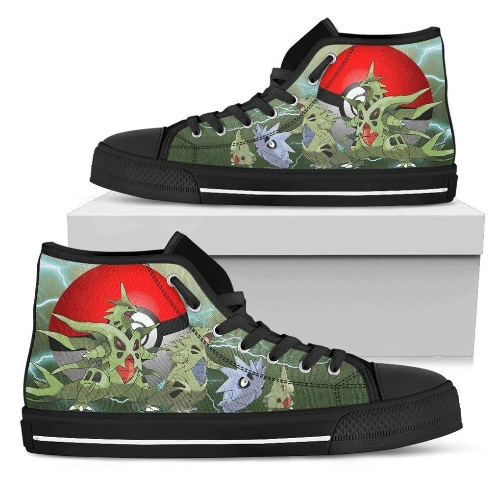 Tyranitar High Top Vans Shoes