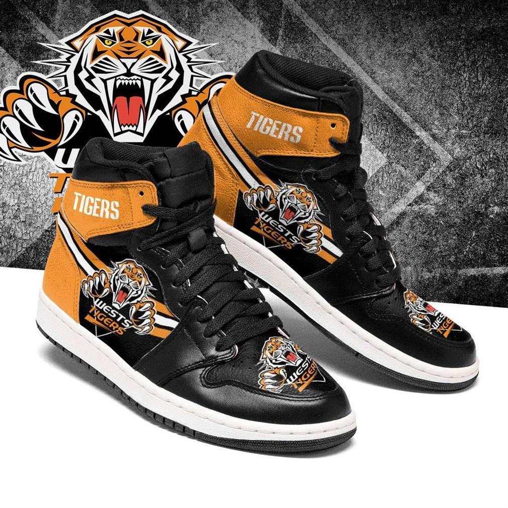 Wests Tigers Nrl Air Jordan Sneaker Boots Shoes
