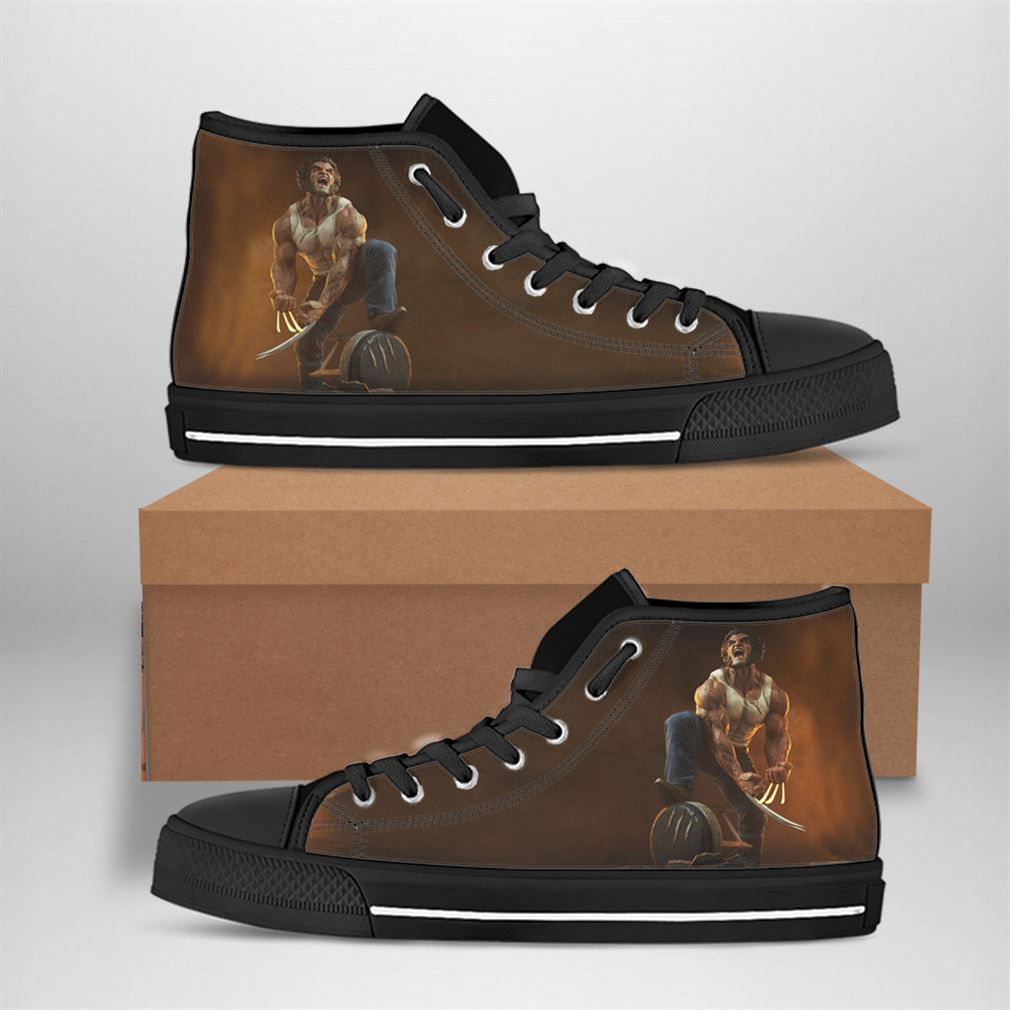 Wolverine Best Movie Character High Top Vans Shoes