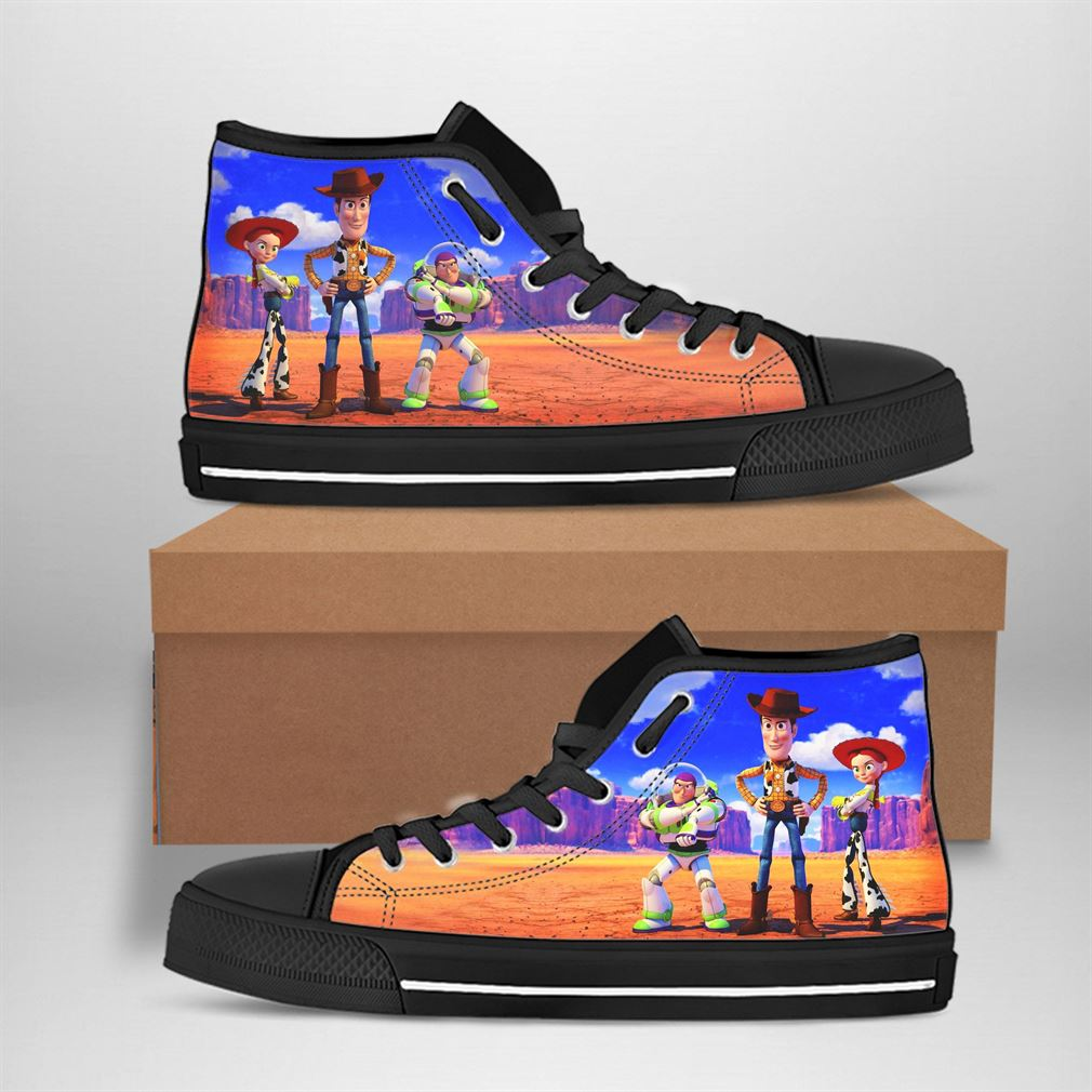 Woody Best Movie Character High Top Vans Shoes