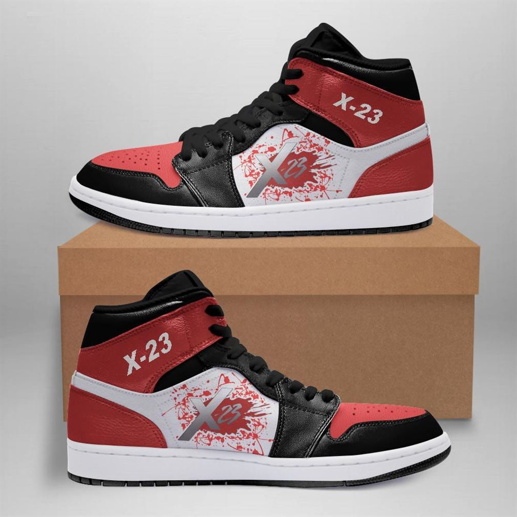 X-23 Marvel Air Jordan Sneaker Boots Shoes
