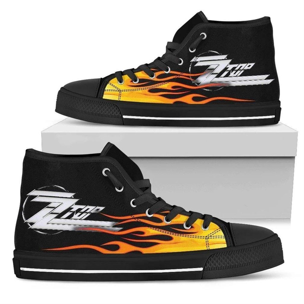 Zz Top High Top Vans Shoes