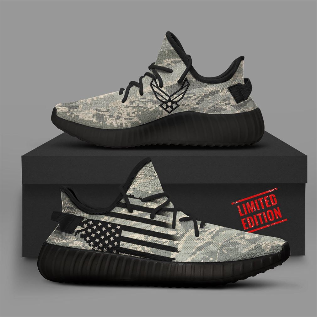 Air Force Camo Runing Yeezy Sneakers Shoes