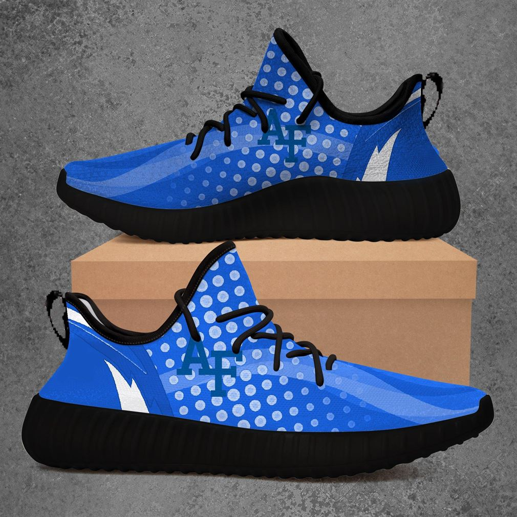 Air Force Falcons Ncaa Sport Teams Yeezy Sneakers Shoes