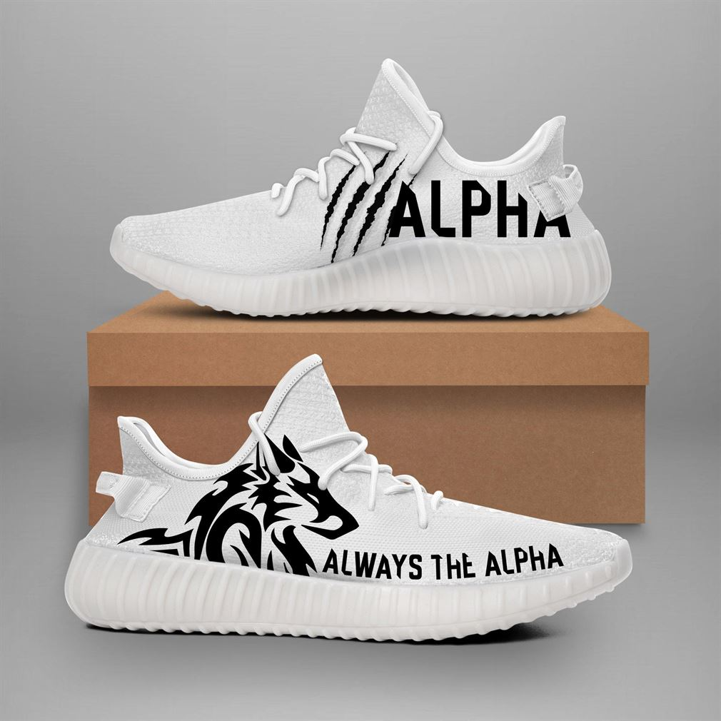 Alpha Wolverine Yeezy Sneakers Shoes
