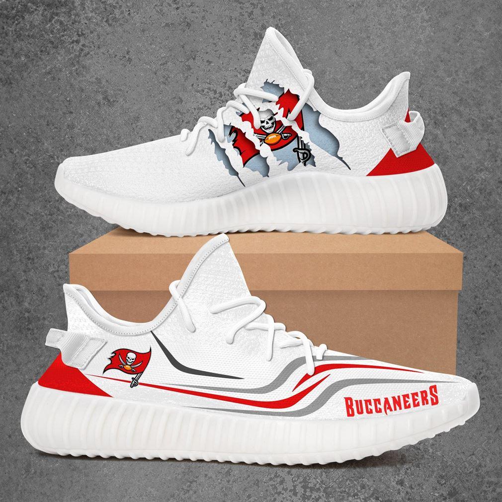 Ampa Bay Buccaneers Nfl Sport Teams Yeezy Sneakers Shoes