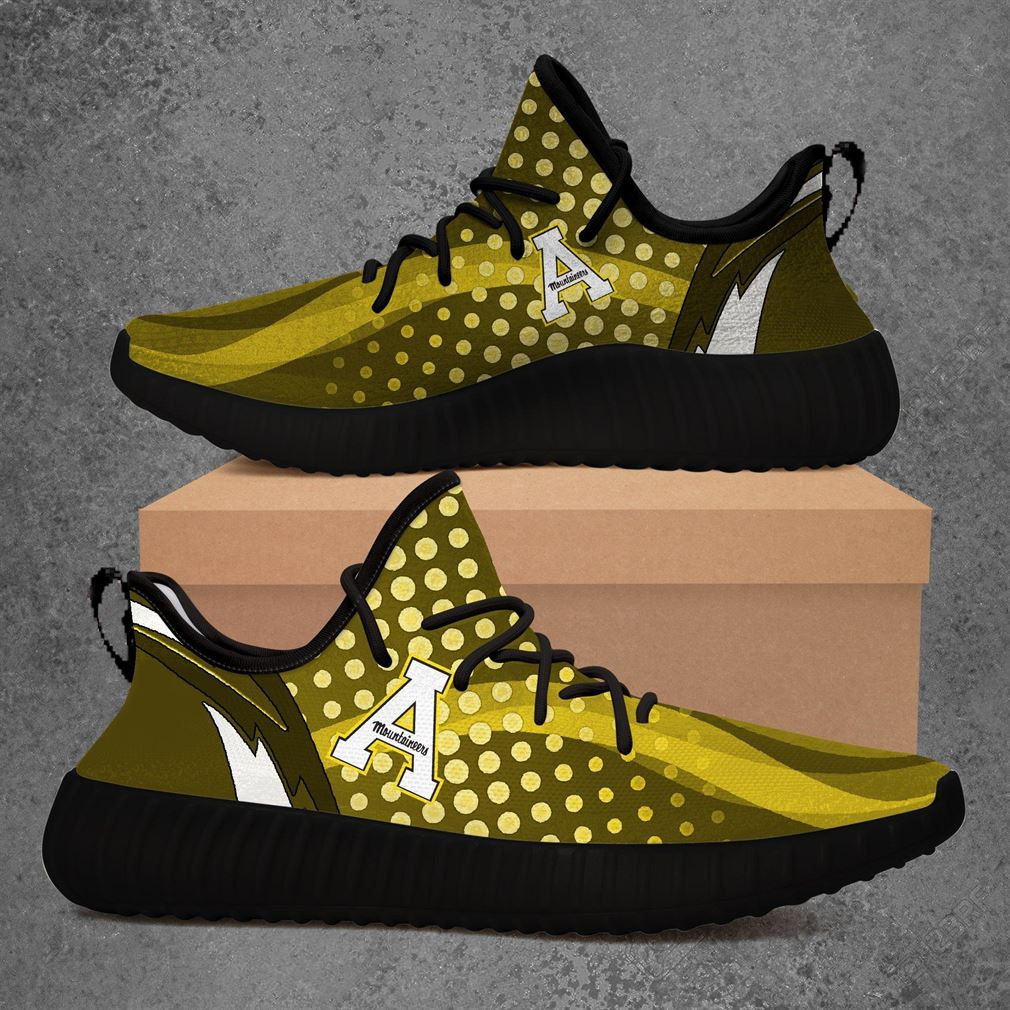 Appalachian State Mountaineers Follow Ncaa Sport Teams Yeezy Sneakers Shoes