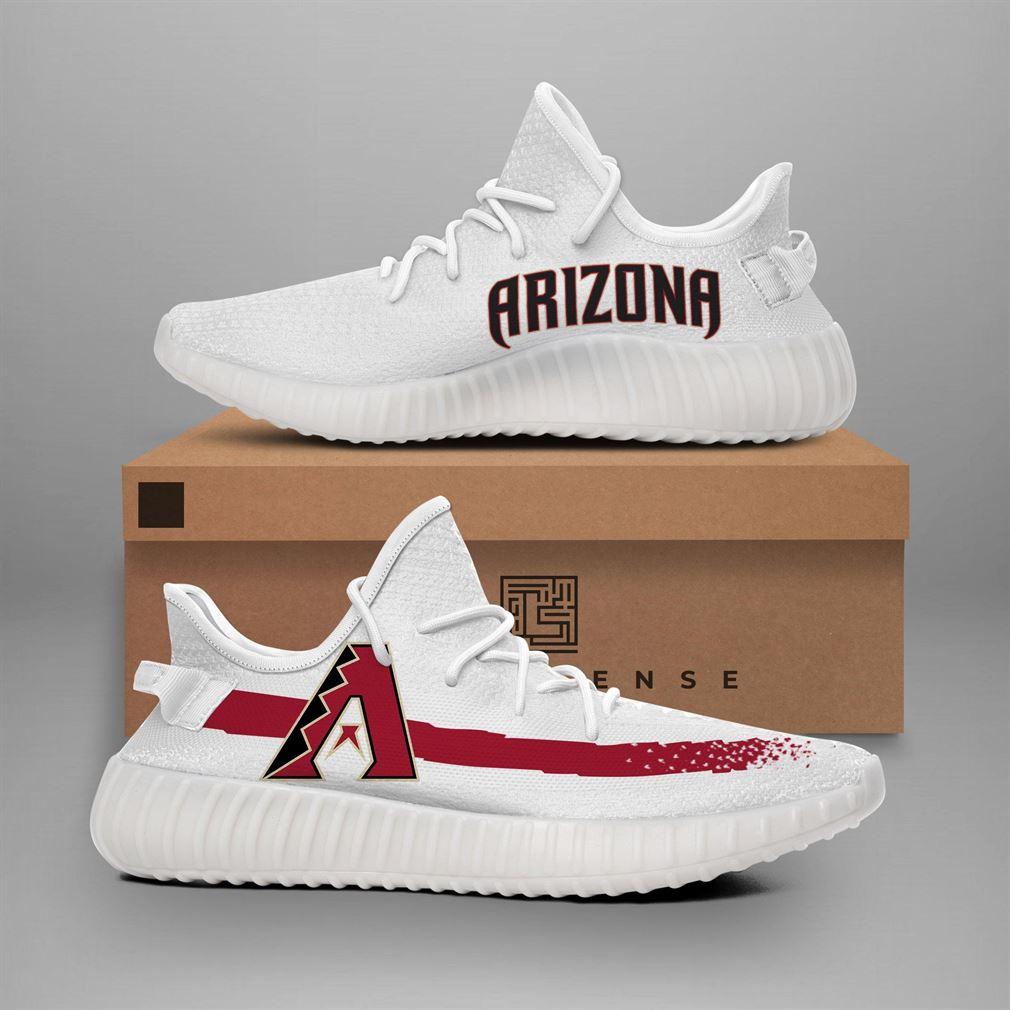 Arizona Diamondbacks Mlb Teams Runing Yeezy Sneakers Shoes
