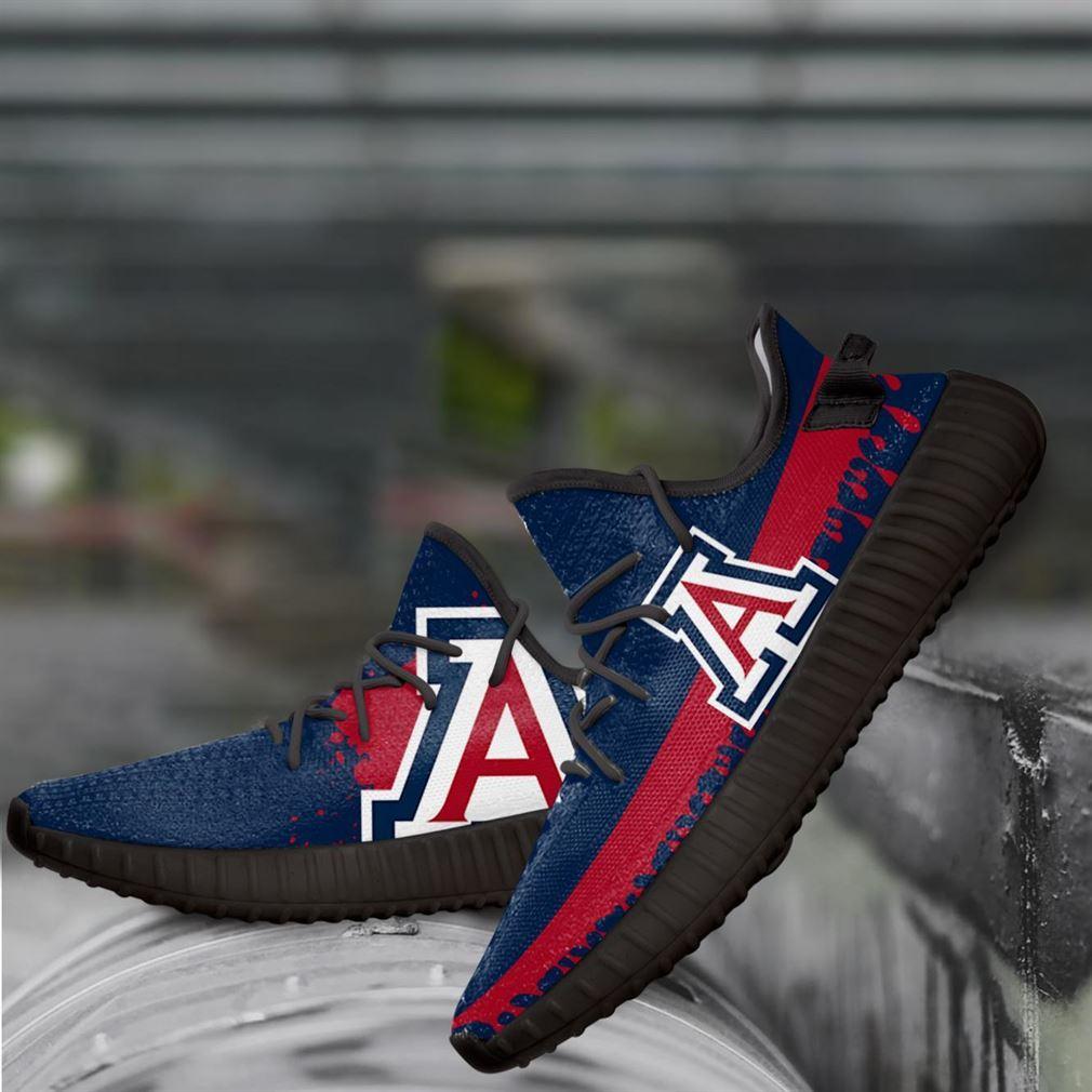 Arizona Wildcats Ncaa Yeezy Sneakers Shoes
