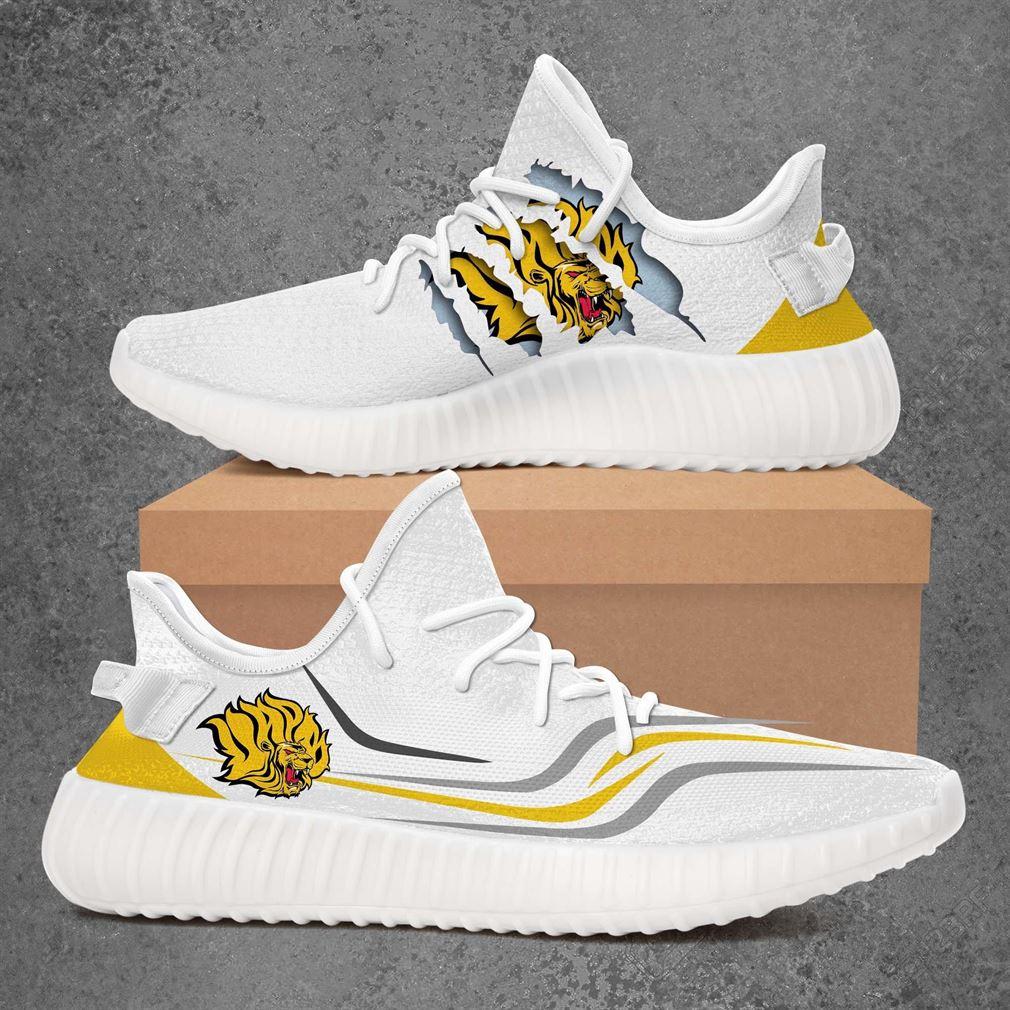Arkansas Pine Bluff Golden Lions Ncaa Sport Teams Yeezy Sneakers Shoes White