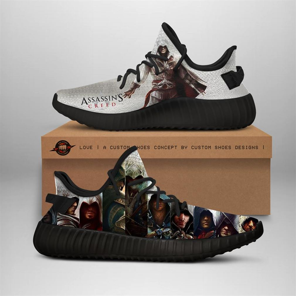 Assassins Creed Yeezy Sneakers Shoes