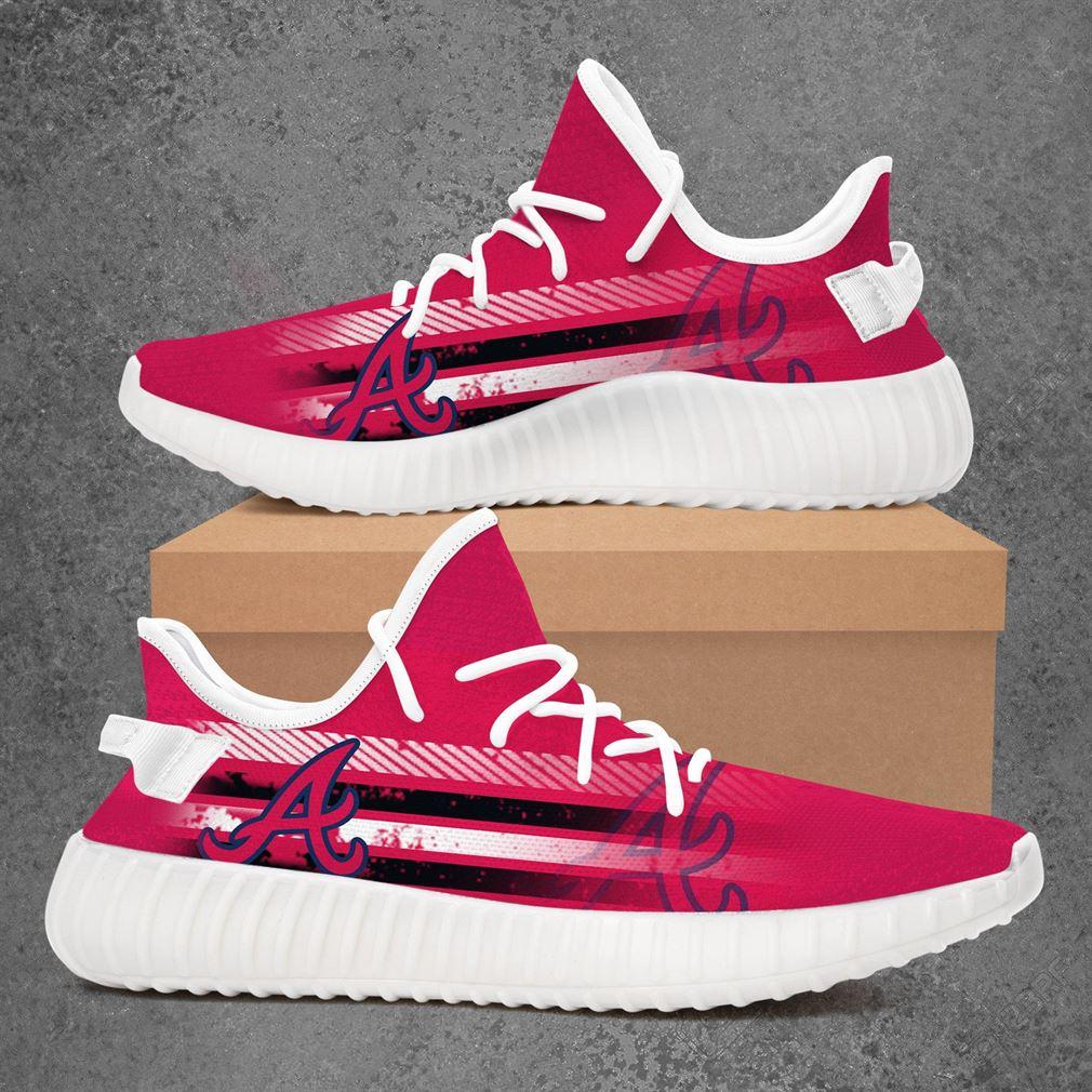 Atlanta Braves Mlb Baseball Yeezy Sneakers Shoes