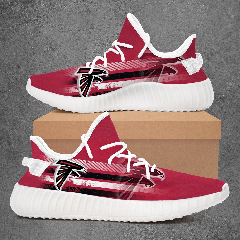 Atlanta Falcons Nba Basketball Yeezy Sneakers Shoes