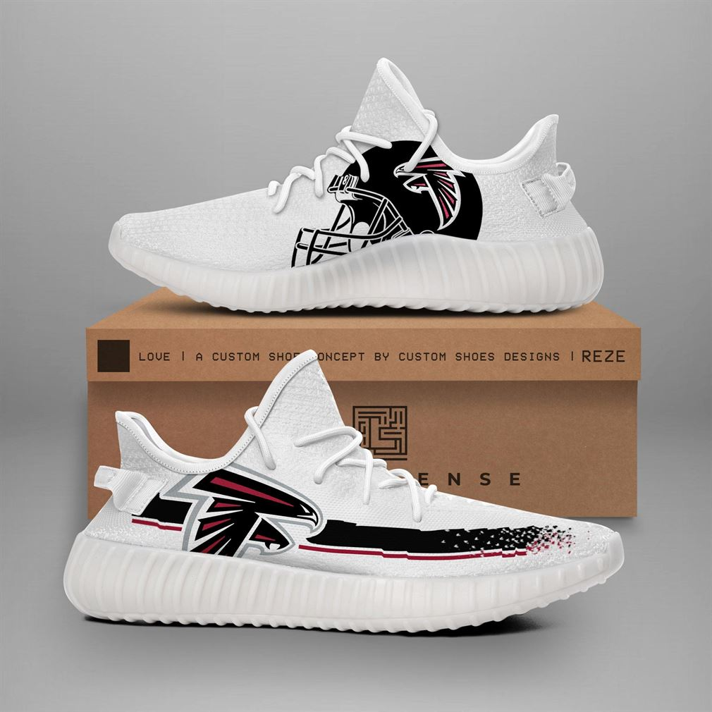 Atlanta Falcons Nfl Teams Runing Yeezy Sneakers Shoes