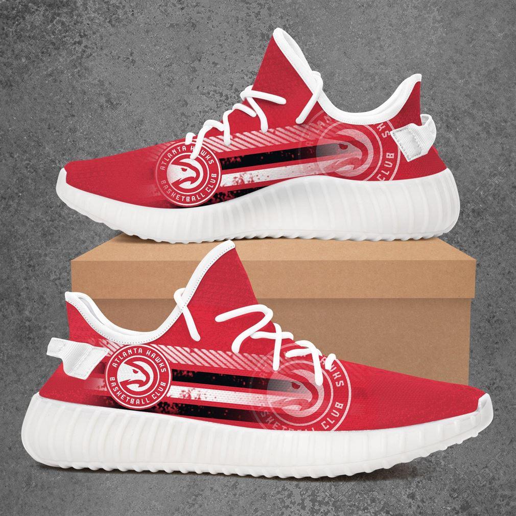 Atlanta Hawks Mlb Baseball Yeezy Sneakers Shoes