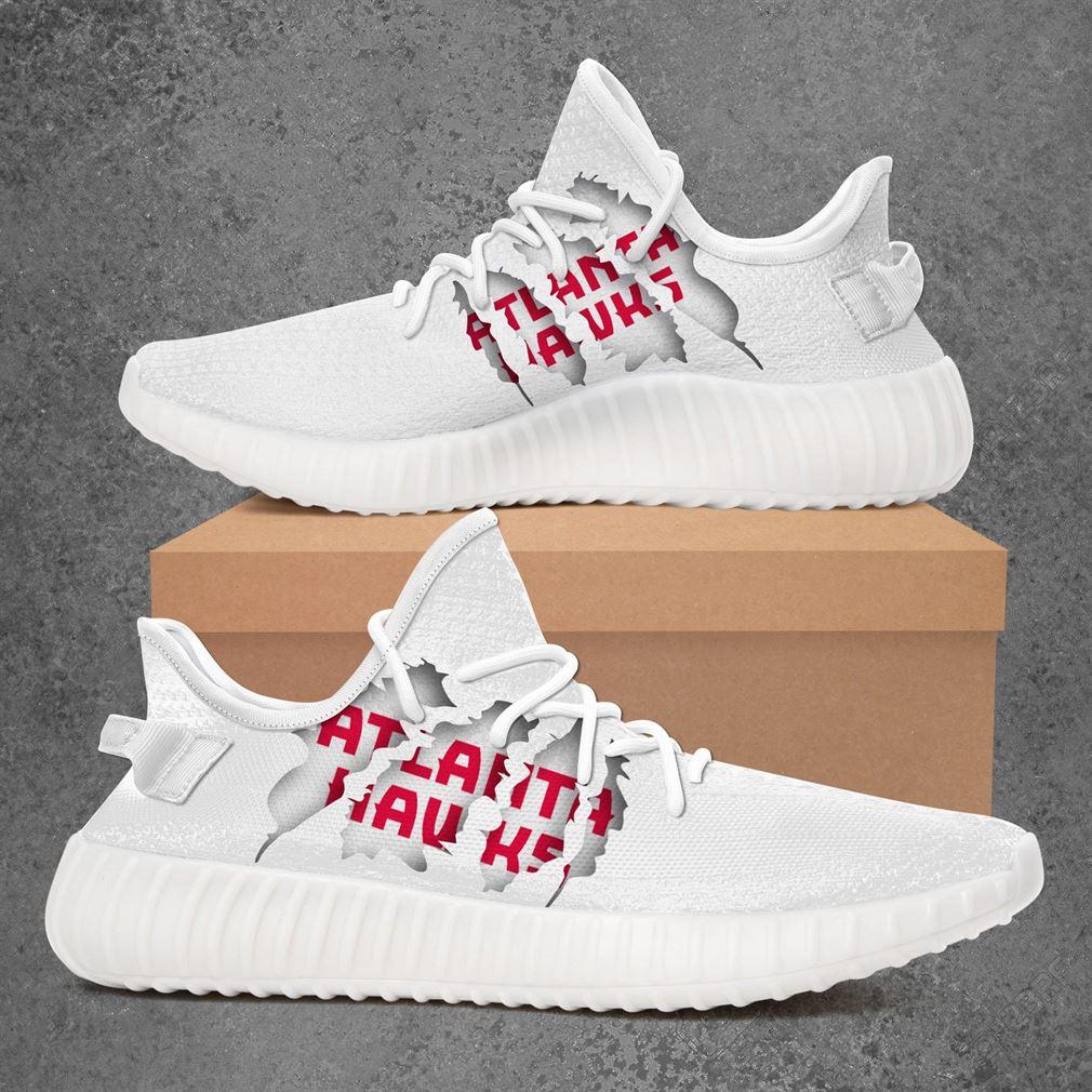 Atlanta Hawks Nba Sport Teams Yeezy Sneakers Shoes