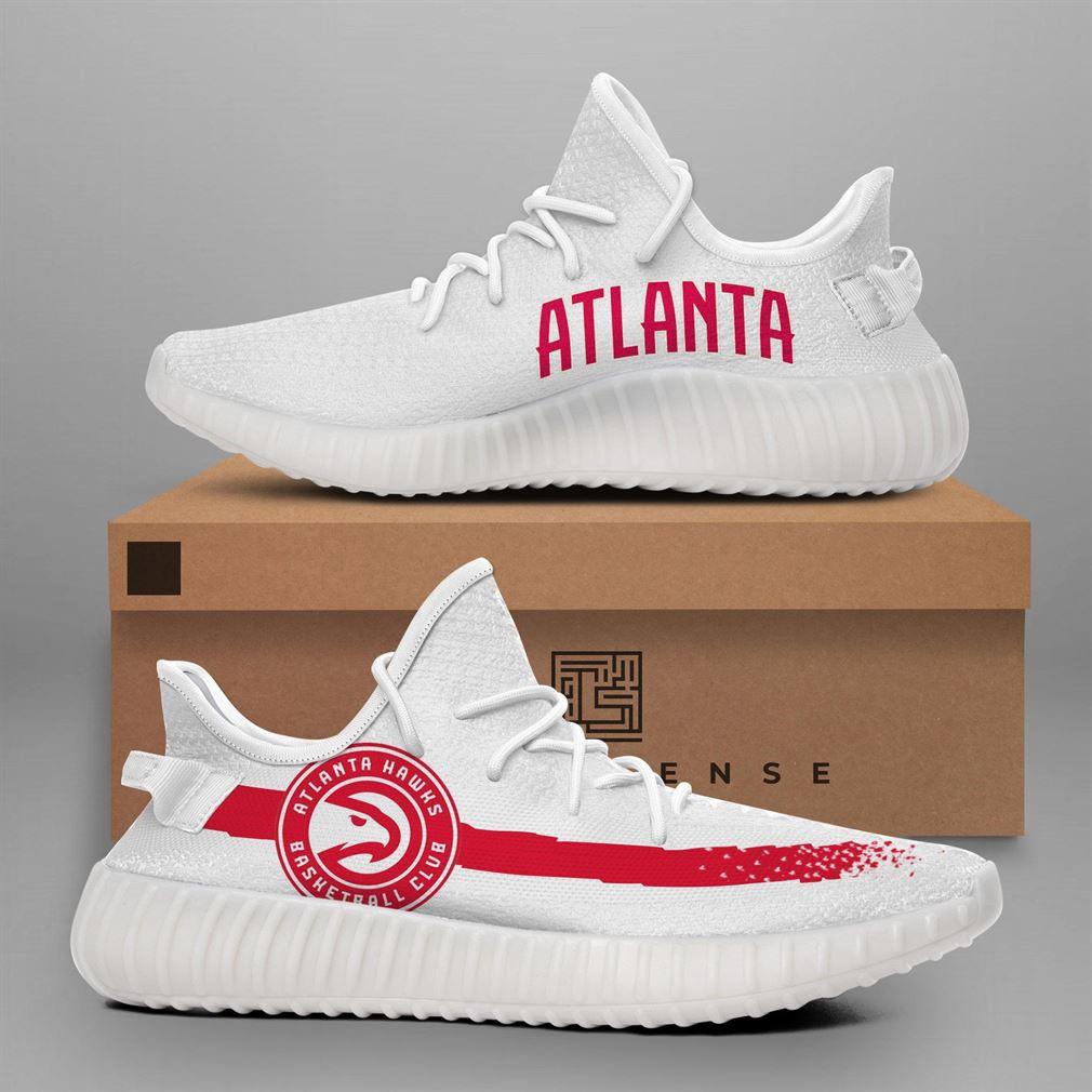 Atlanta Hawks Nba Teams Runing Yeezy Sneakers Shoes