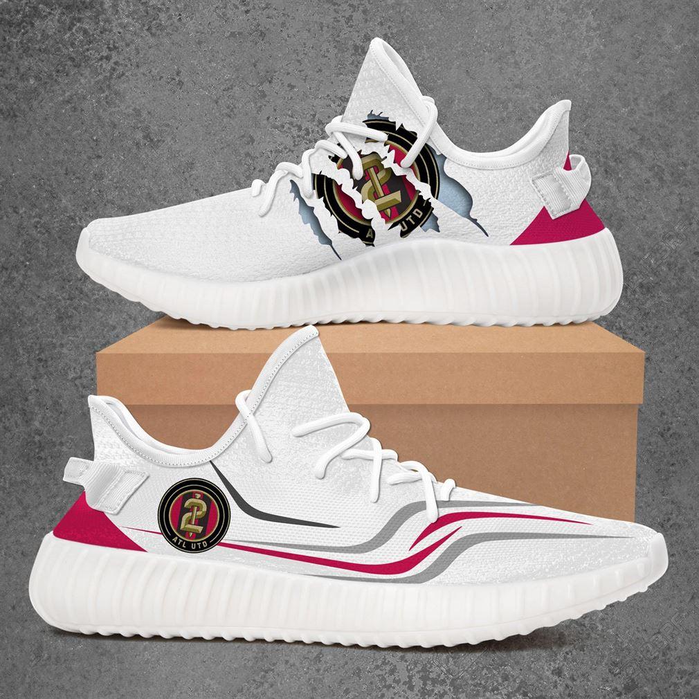 Atlanta United 2 Usl Championship Sport Teams Yeezy Sneakers Shoes White