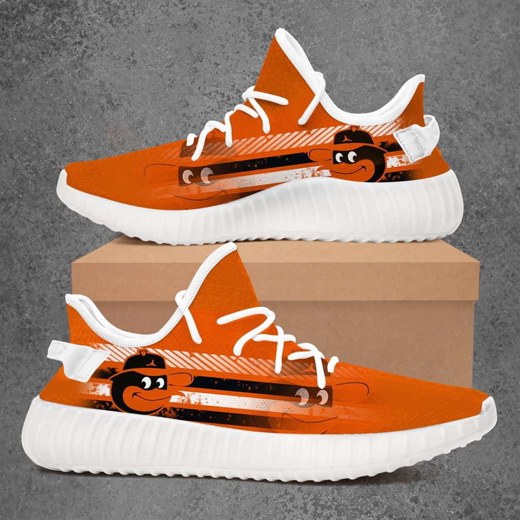 Baltimore Orioles Mlb Baseball Yeezy Sneakers Shoes