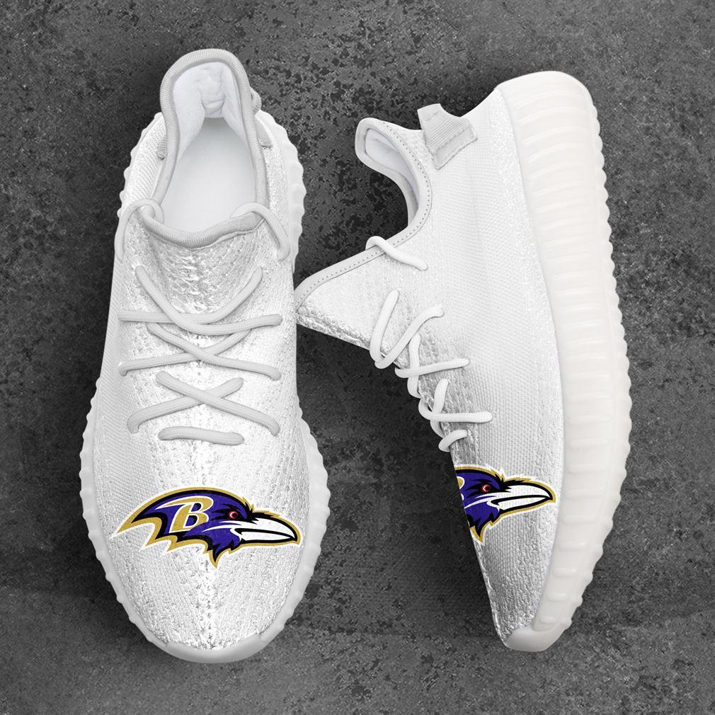 Baltimore Ravens Nfl Sport Teams Yeezy Sneakers Shoes