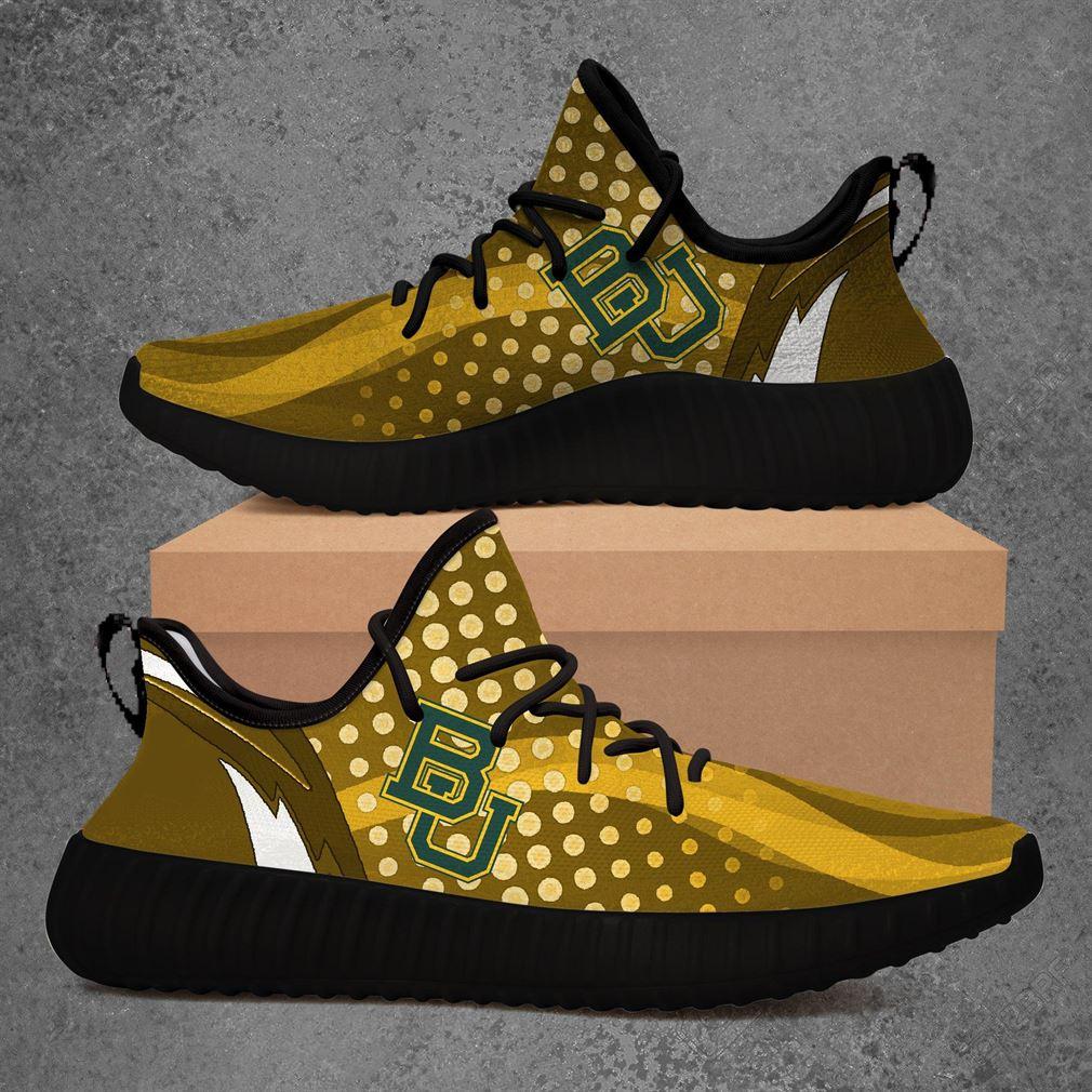 Baylor Bears Ncaa Sport Teams Yeezy Sneakers Shoes