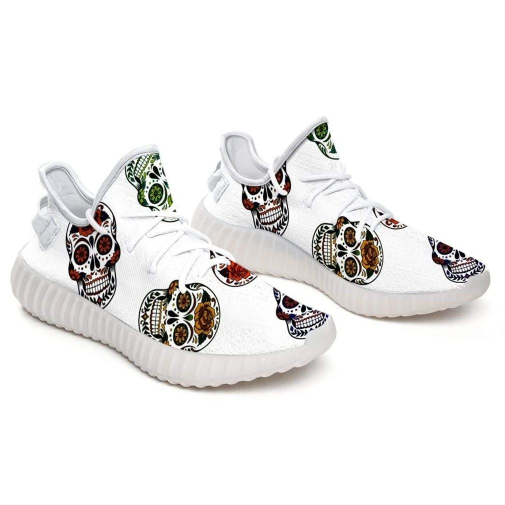 Beautiful Skulls Yeezy Sneakers Shoes