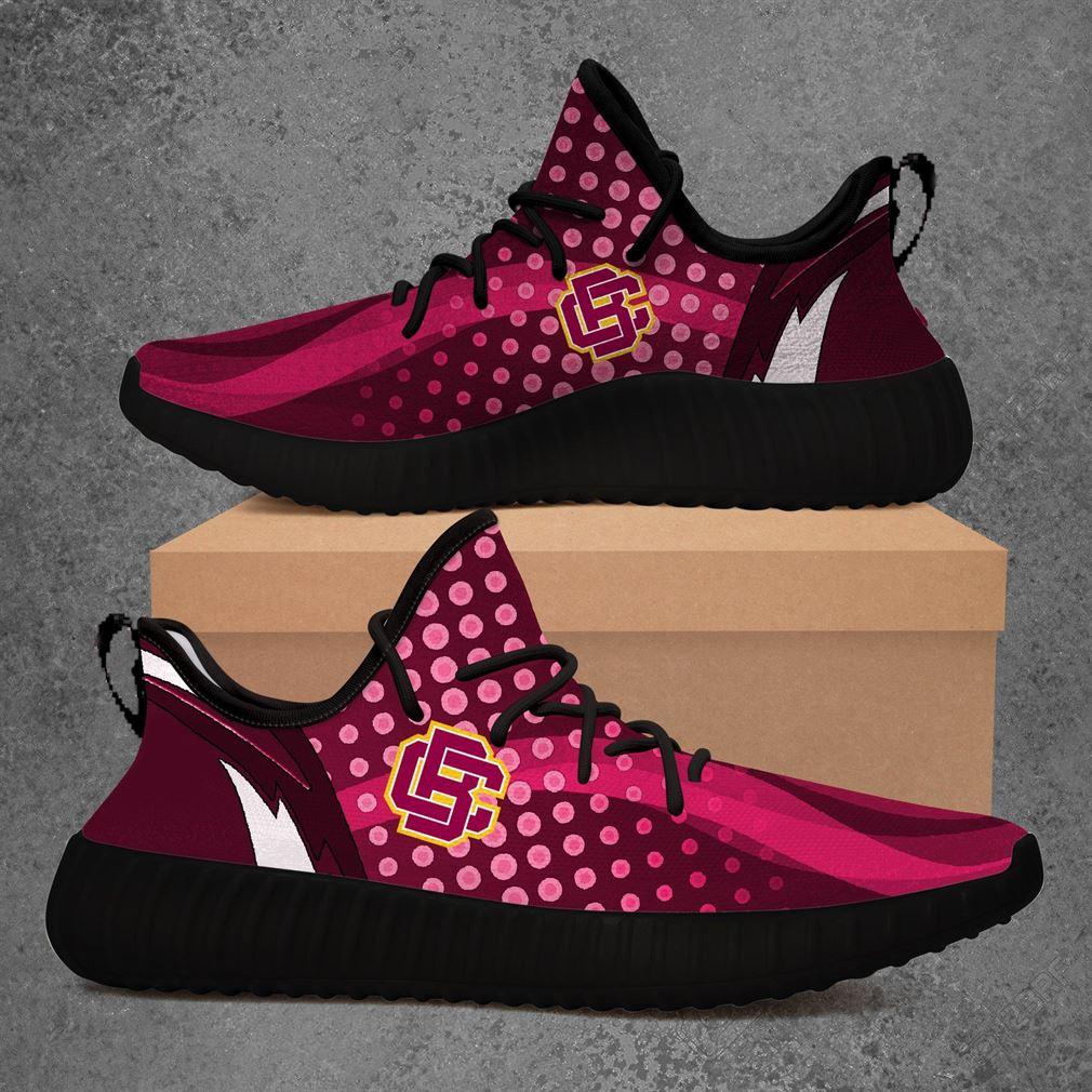 Bethune-cookman Wildcats Ncaa Yeezy Sneakers Shoes