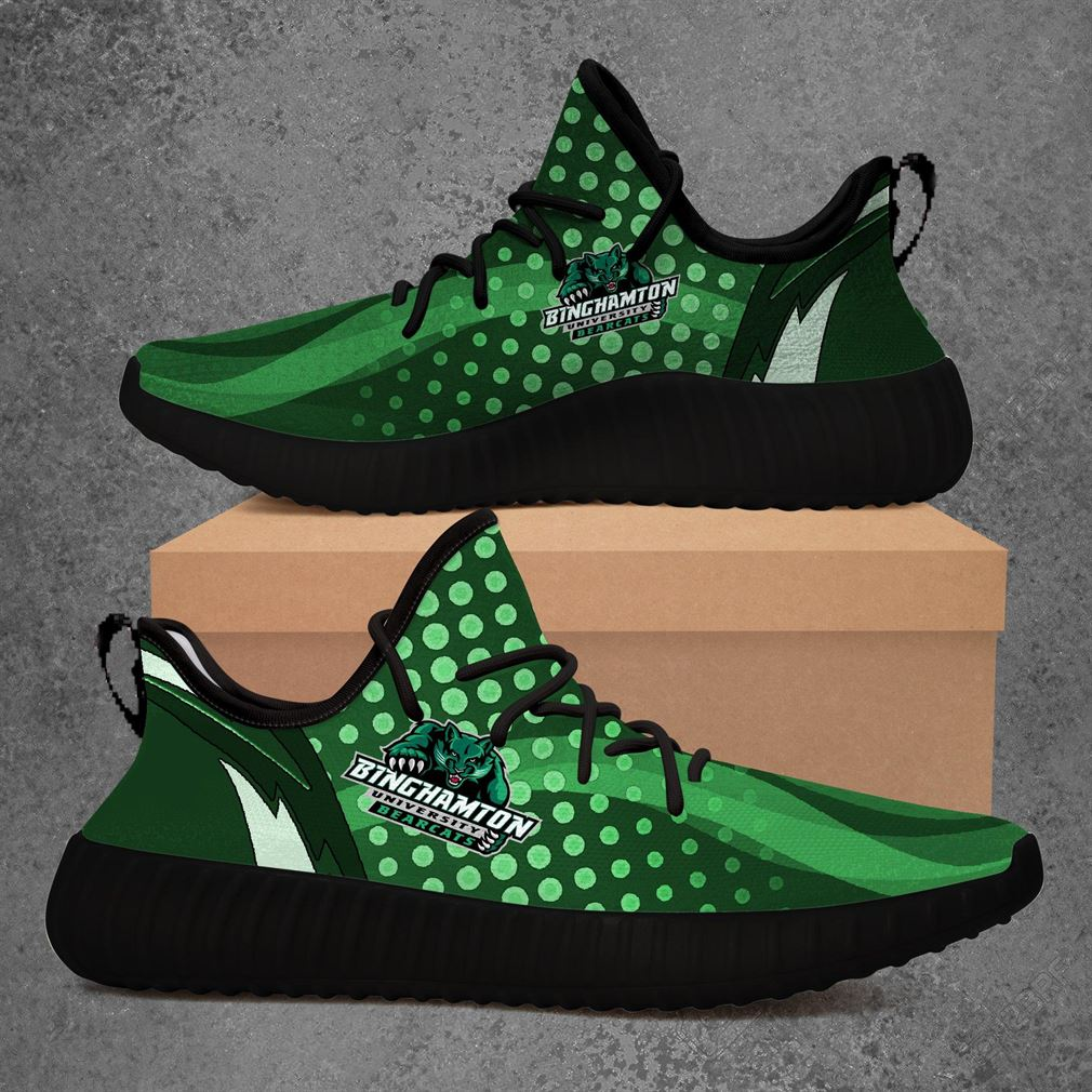 Binghamton Bearcats Ncaa Sport Teams Yeezy Sneakers Shoes