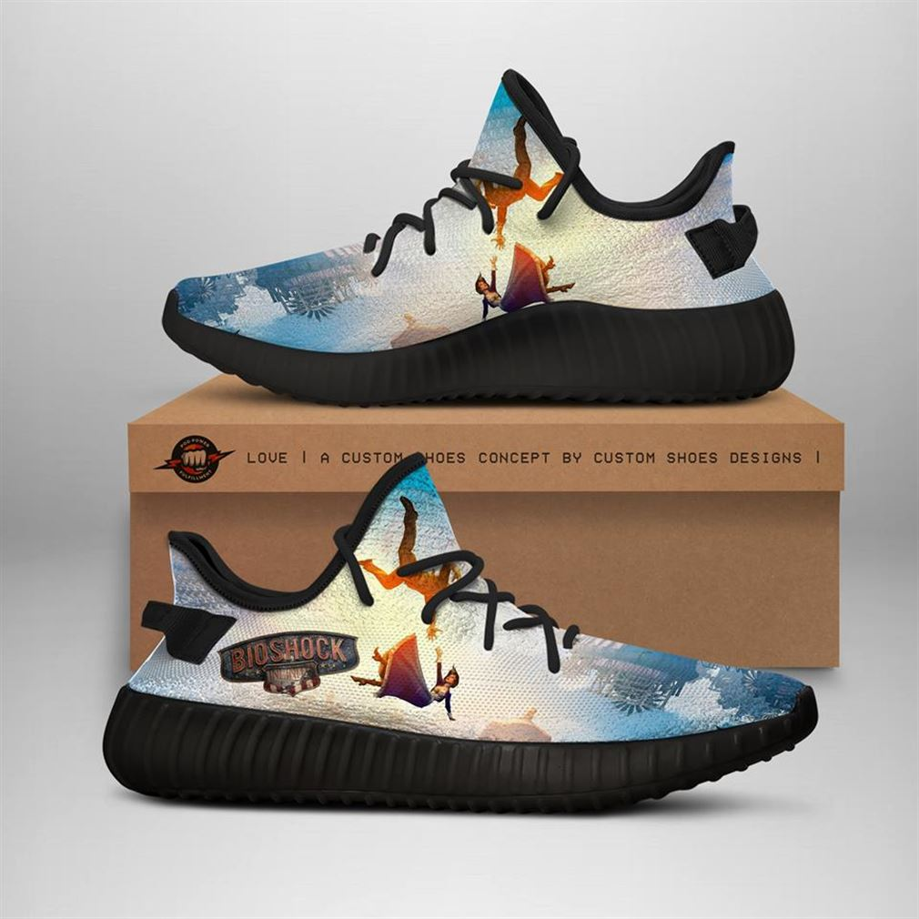 Bioshock Custom Yeezy Sneakers Shoes