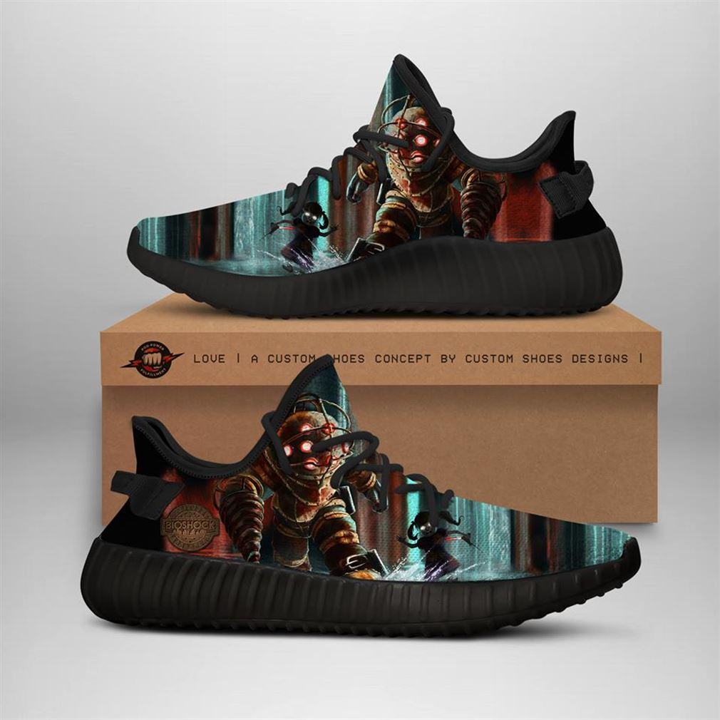 Bioshock Yeezy Sneakers Shoes