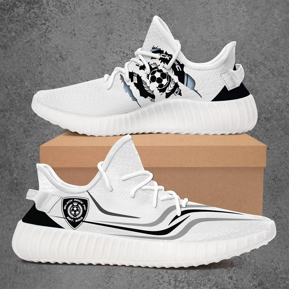 Black Rock Fc Usl League Two Sport Teams Yeezy Sneakers Shoes White