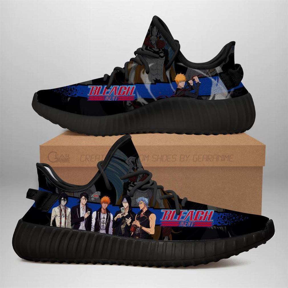 Bleach Yz Sneakers Anime Yeezy Sneakers Shoes Black