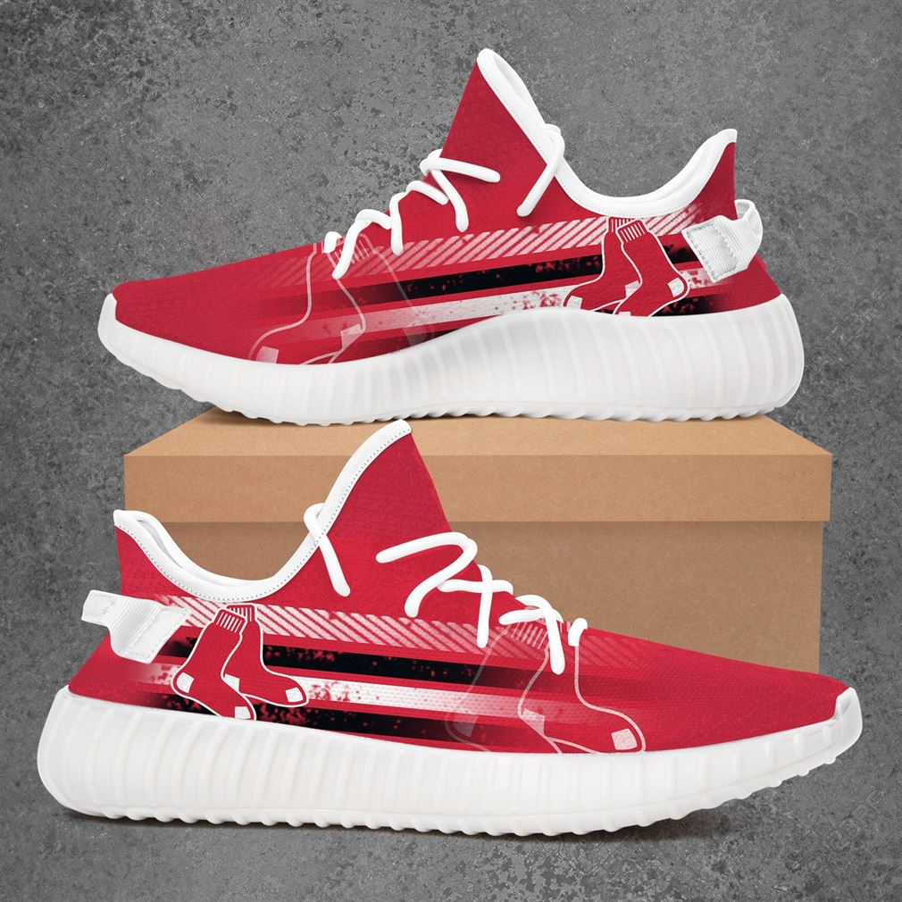Boston Red Sox Mlb Baseball Yeezy Sneakers Shoes