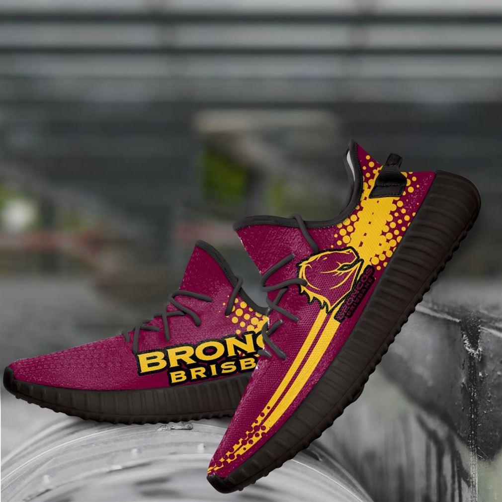 Brisbane Broncos Nrl Yeezy Sneakers Shoes