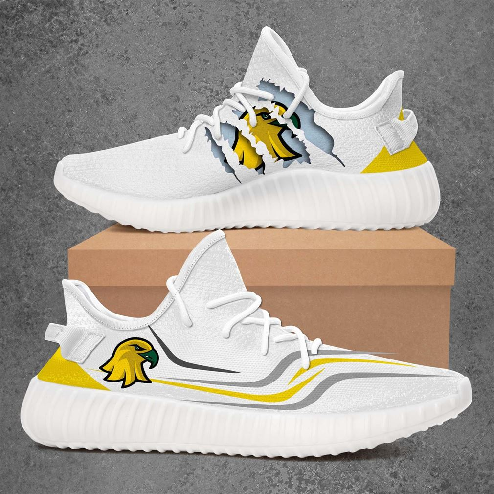Brockport Golden Eagles Ncaa Sport Teams Yeezy Sneakers Shoes White