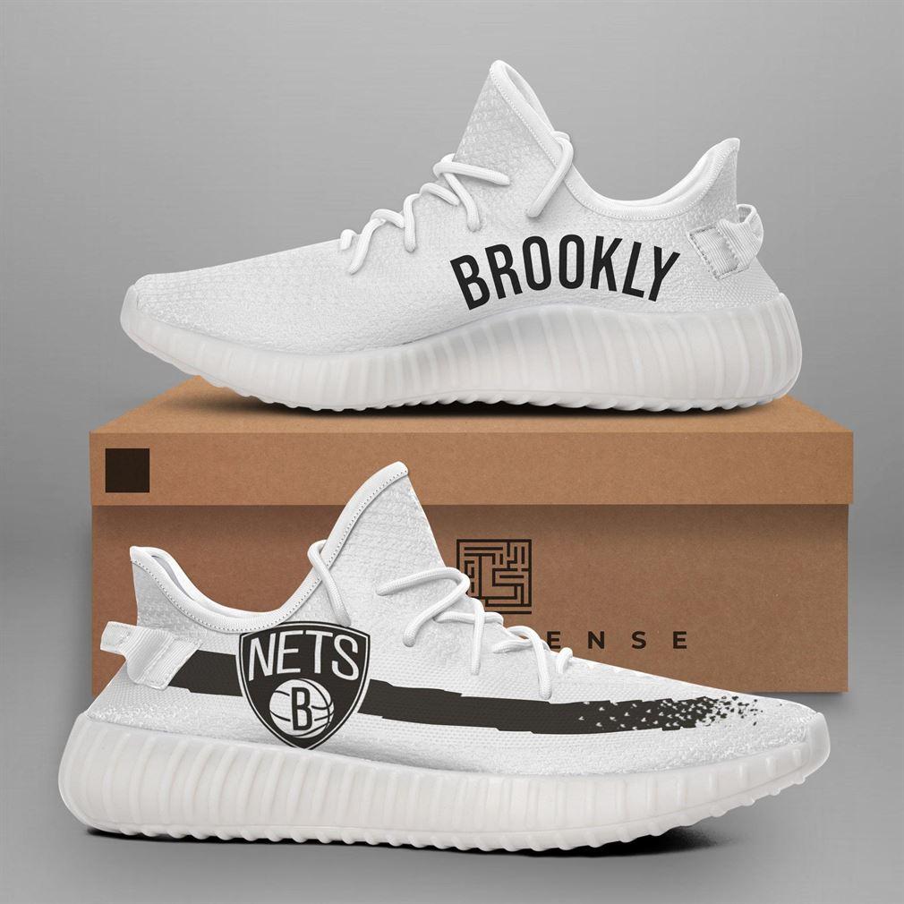 Brooklyn Nets Nba Teams Runing Yeezy Sneakers Shoes