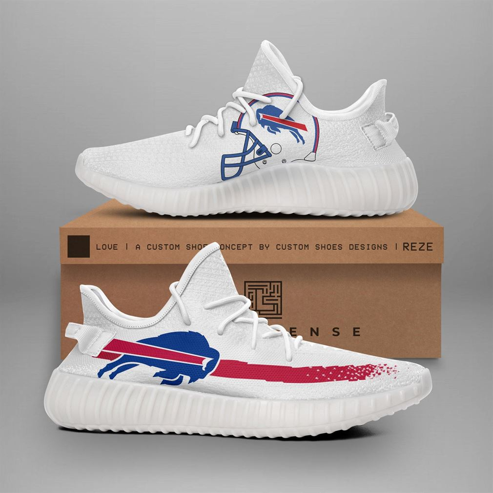 Buffalo Bills Nfl Teams Runing Yeezy Sneakers Shoes