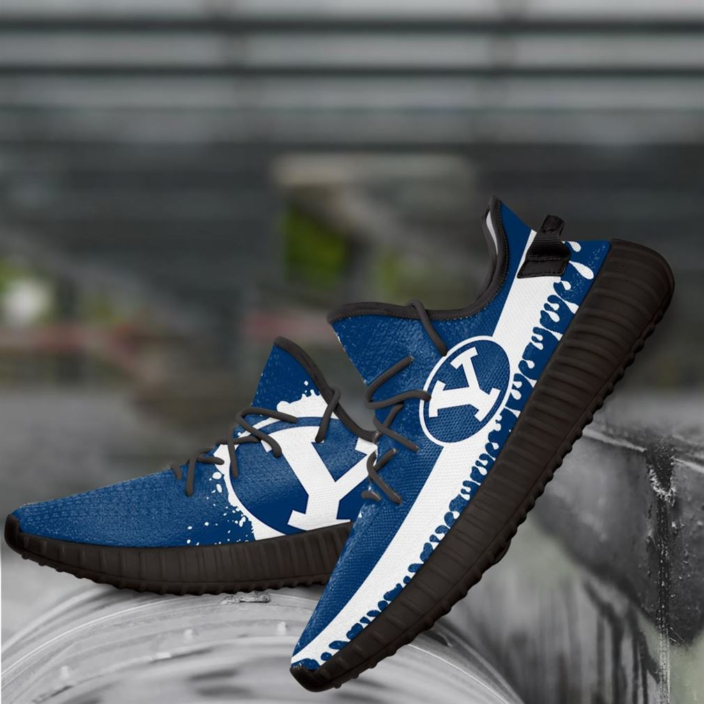 Byu Cougars Ncaa Yeezy Sneakers Shoes